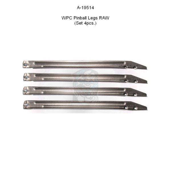 Bally / Williams WPC / WPC95 Flipperbeine ohne Oberfläche (Satz)