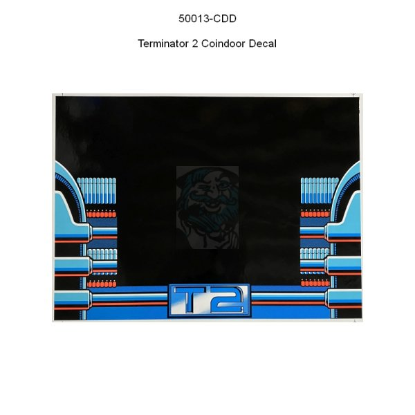 Terminator 2 Coindoor Decal