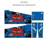 Data East Star Wars Cabinet Decal Set Next Generation