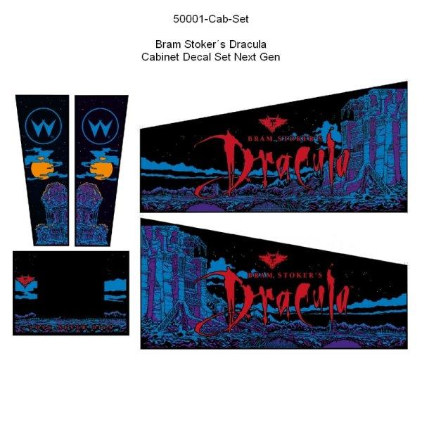 Bram Stoker´s Dracula Gehäuse Decal Set Next Generation