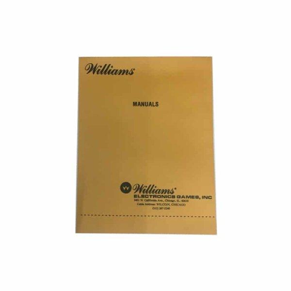 Williams Pinball Manual Umschlag