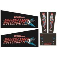 Rollergames Gehäuse Decal Set (Production) Next...