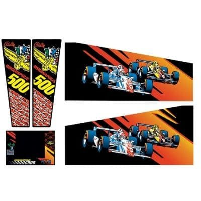 Indianapolis 500 Gehäuse Decal Set (Production) Next Generation