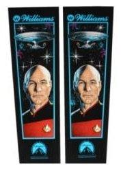 Star Trek The Next Generation Backbox Decal Set