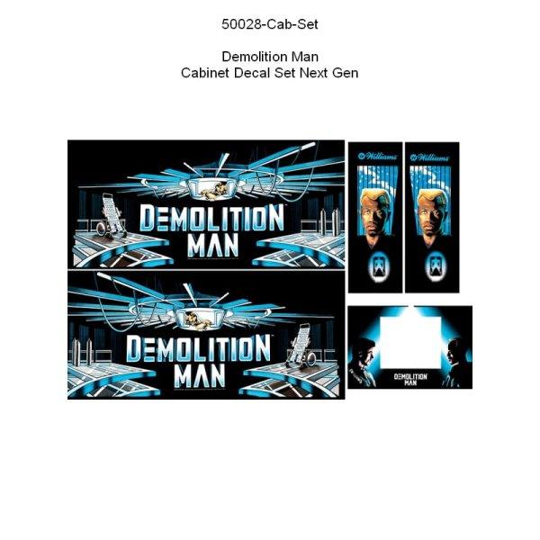 Demolition Man Gehäuse Decal Set Next Generation