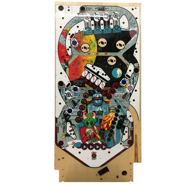 Williams Alien Poker Spielfeld