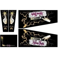 Addams Family Gold Gehäuse Decal Set PPS