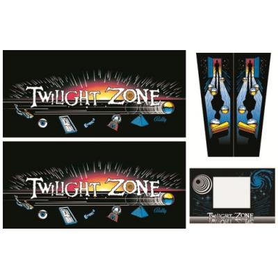 Twilight Zone Gehäuse Decal Set (Production) Next Generation