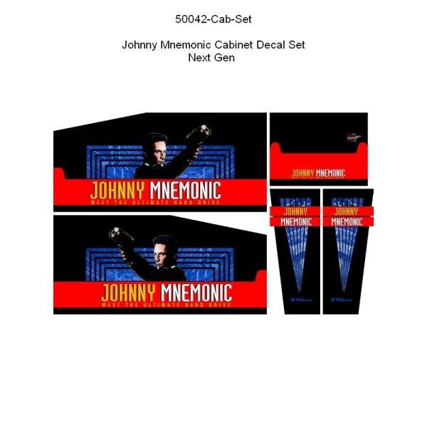 Johnny Mnemonic Gehäuse Decal Set Next Generation