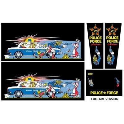 Police Force Gehäuse Decal Set (Full Art) Next Generation