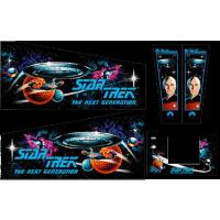 Star Trek The Next Generation Gehäuse Decal Set Next...